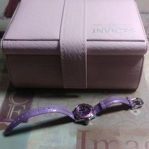 Pro Diver lady watch with Limited ed case💗